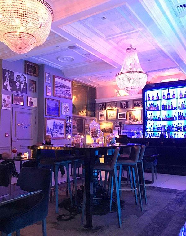 Le Bar intimiste de l'Hotel Vertigo