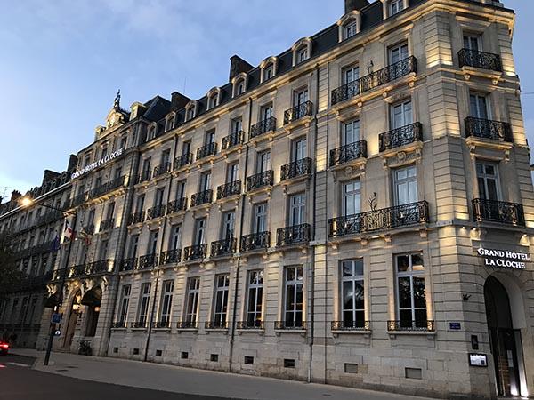 L'hôtel de la Cloche, le mythique palace de la capitale bourguignonne