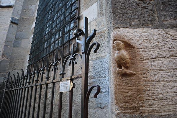 La petite chouette Porte Bonheur de Notre Dame