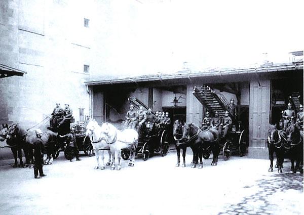 Notre-Dame pompiers