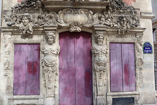 Quai des Célestins immeuble baroque