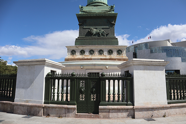 La Colonne de La Bastille rénovée