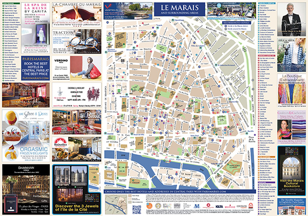 PARIS MARAIS MAP BY PARISMARAIS.COM